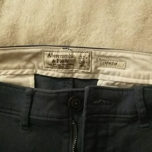 Abercrombie and Fitch chinos (stretch material)
